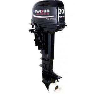 Бензиновый двигатель для лодки 2х Parsun 3 л.с., код: T30FWS