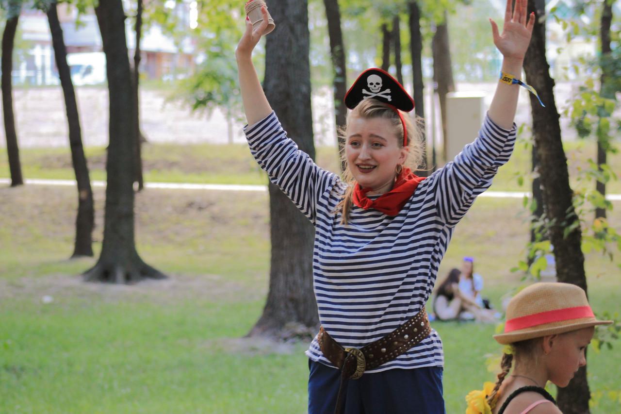 Пиратский квест ( для 5-7 лет)