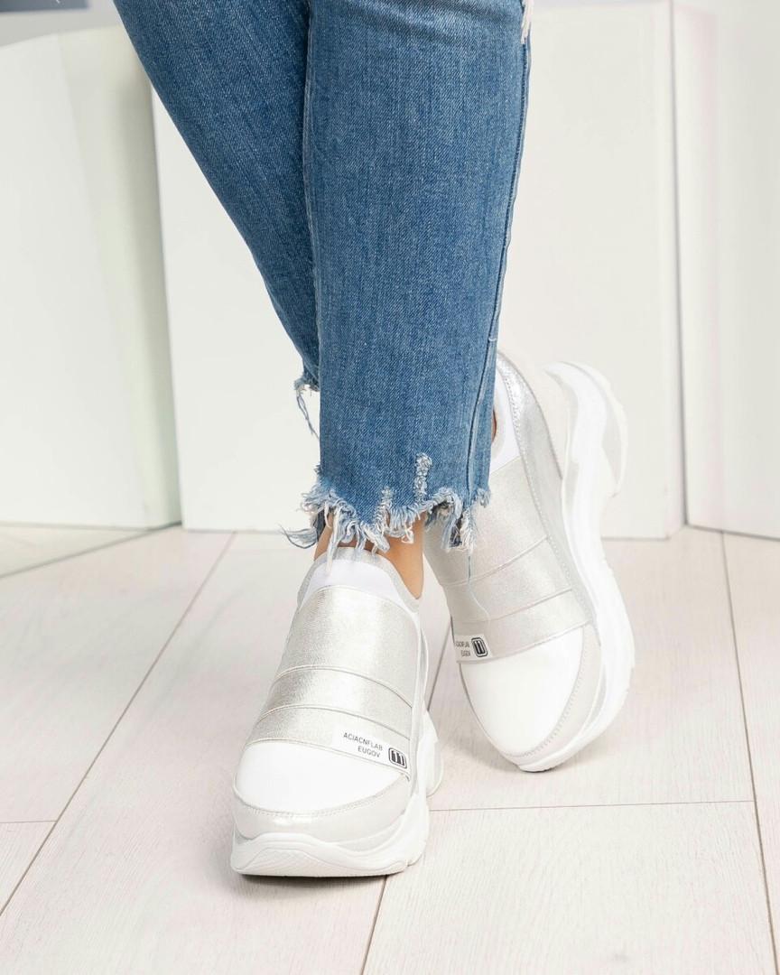 Кроссовки женские  DM белые
