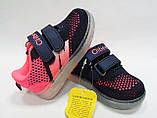 Кроссовки для девочки с мигалками тм Clibee, размер  23, 24, фото 3