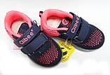 Кроссовки для девочки с мигалками тм Clibee, размер  23, 24, фото 4