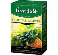 Чай зеленый с цитрусом, ананасом и имбирем Greenfield Tropical Marvel 100 гр.