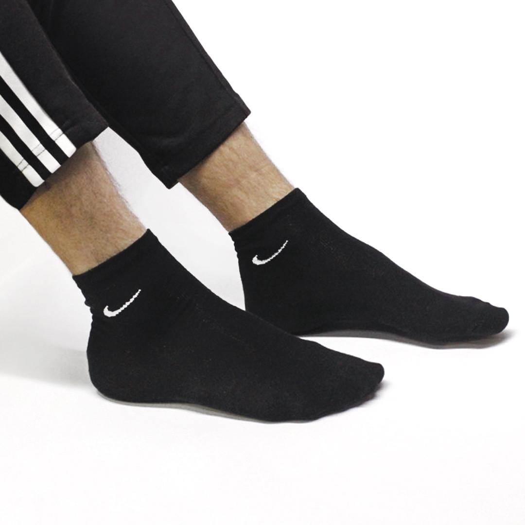 Короткие носки 41-45 (белые или черные)
