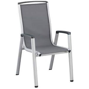 Кресло Kettler Vista Stackable Silver, код: 0103802-0000