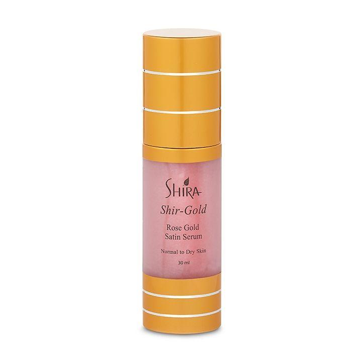 Shira Розовое Золото Атласная Сыворотка Shir-Gold Rose Gold Satin Serum