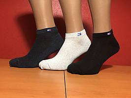Носки спортивные летние сетка хлопок Tommy Hilfiger Турция размер 36-40 ассорти