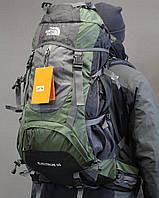 Туристический рюкзак North Face Extreme 60 литров (Оливковый)