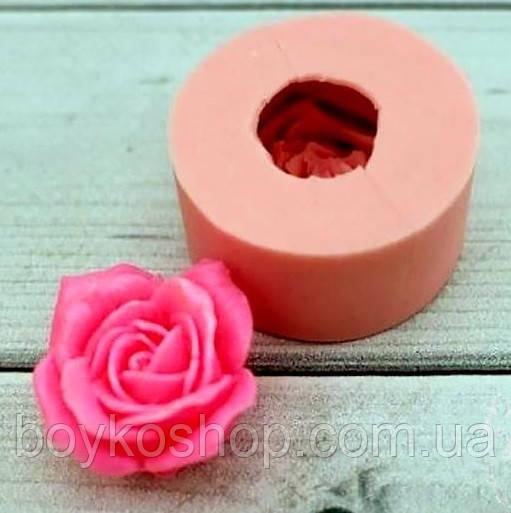 Силиконовая форма чайная роза 3D