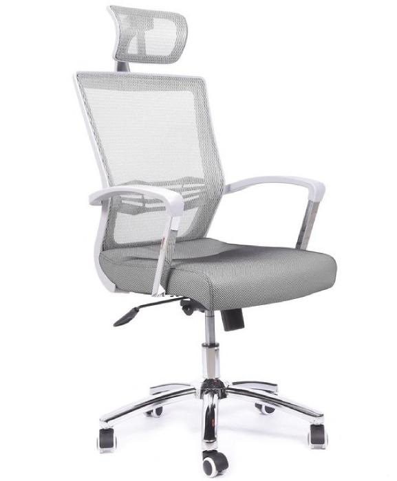 Кресло MESH PLUS черный/белый