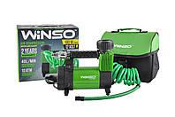 Автомобильный компрессор Winso 132000 с фонарем 12v/10Атм/40л/180вт/30A шланг 5м, фото 1