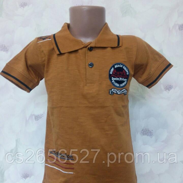 Детская футболка поло для мальчика