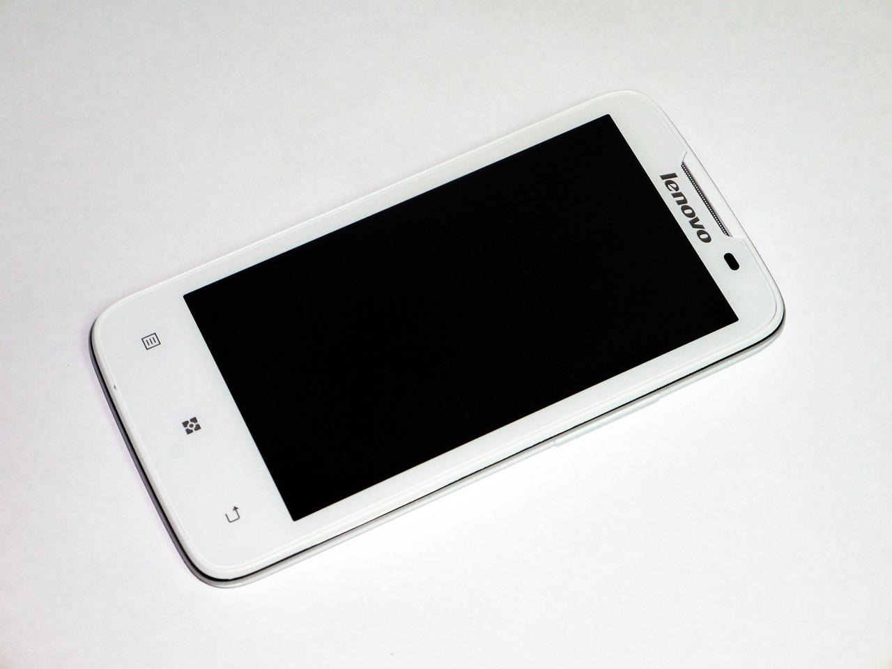 Телефон Lenovo A820 Белый 4,5'' IPS 13МП 4Ядра 1Gb ОЗУ