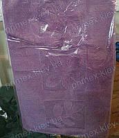 """Набор ковриков для ванной, 60х100 + 60х50см. """"Цветы"""", цвет сиреневый"""