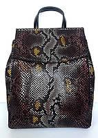 Рюкзак женский кожаный Philipp 7027-3 Змея (20181116V-864)
