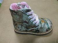 Демисезонные ботинки 22 р. на девочку утепленные, осенние, весенние, демі, дівчинку, демі, флис