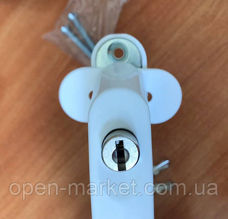 Ручка c ключом, замком, защита на окно от детей MEDOS, Польша, фото 2
