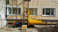 Подъемник грузовой консольный (мачтовый), фото 1