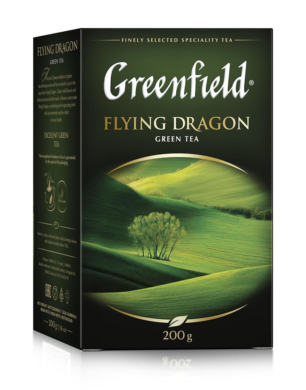 Чай зеленый Greenfield Flying Dragon 200 гр.