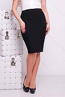 Юбка большого размера мод. №20 Б, (2цв), батальная юбка карандаш, трикотажная юбка для полных, дропшиппинг