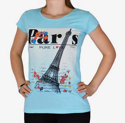 Футболка Белая Paris (арт. WT6102), фото 2