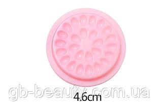 Палетка для клея, 26 ячеек, цвет Розовый (шт)