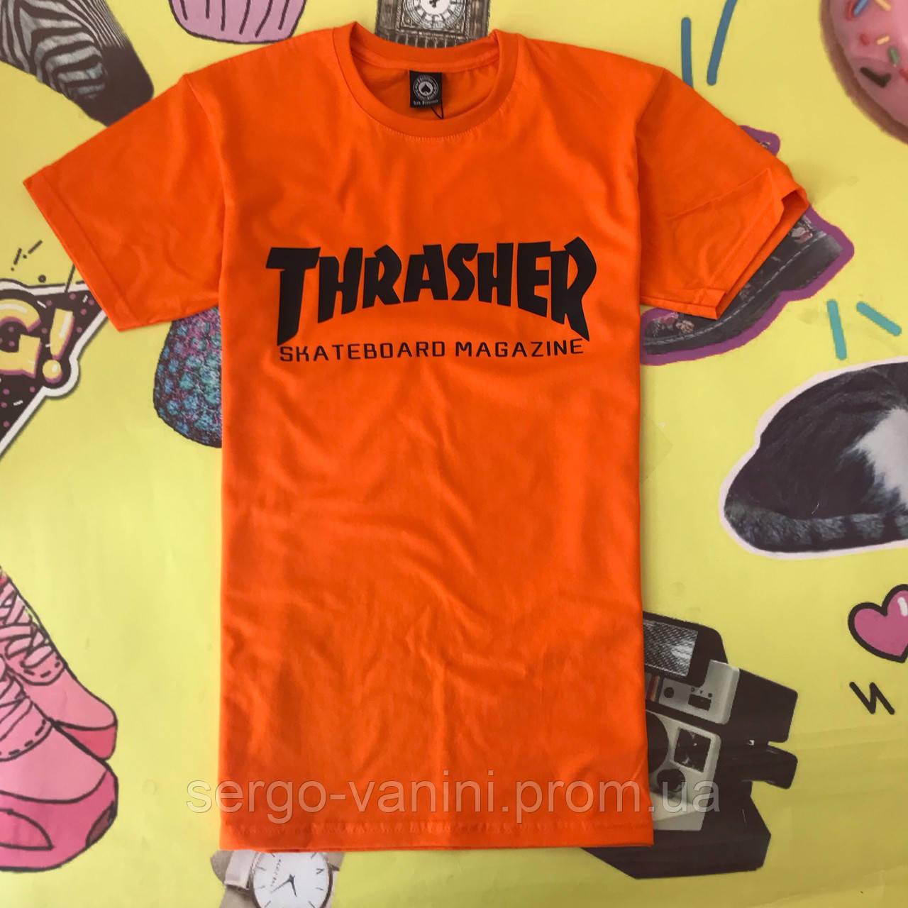 Футболка Thrasher orange (реплика)
