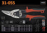 Ножницы по металлу правые 250мм., NEO 31-055