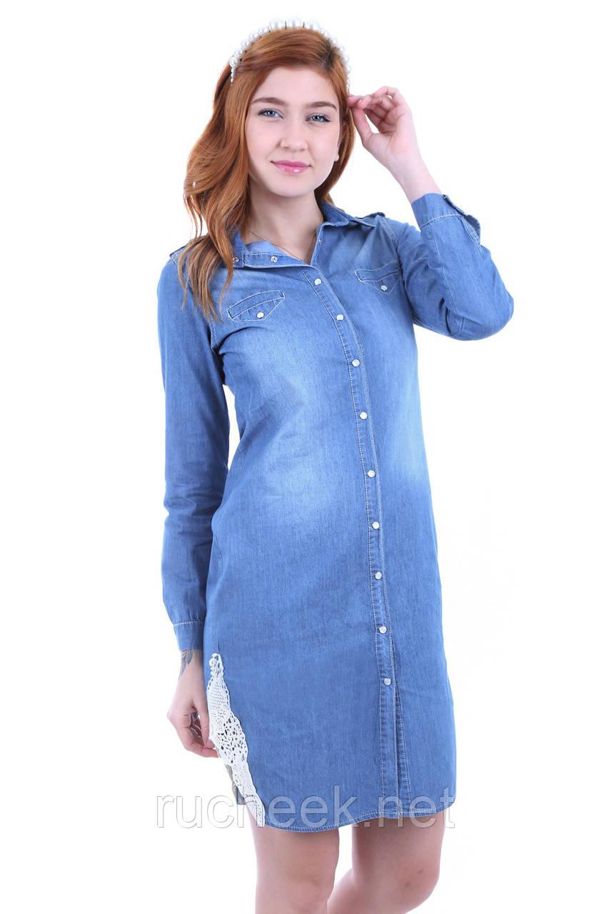 c7e8a2d4918 Купить Джинсовое платье - рубашка миди женская