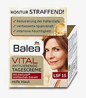 Balea Vital aktivierende Tagescreme - Активирующий дневной крем для зрелой кожи лица SPF15, 50 мл