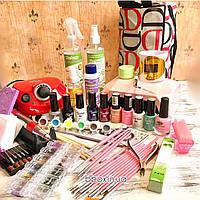 Стартовый набор для покрытия и наращивания ногтей