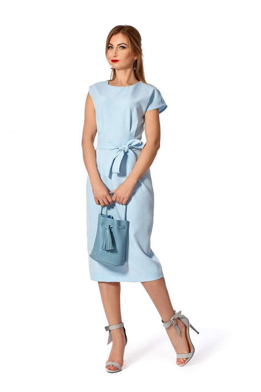 Платье летнее 1145.1 цвет голубой