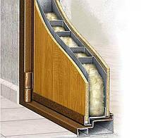 Види утеплювачів для вхідних дверей: переваги мінеральної вати