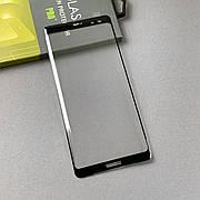 Захисне скло 3D на Sony XZ3 Black