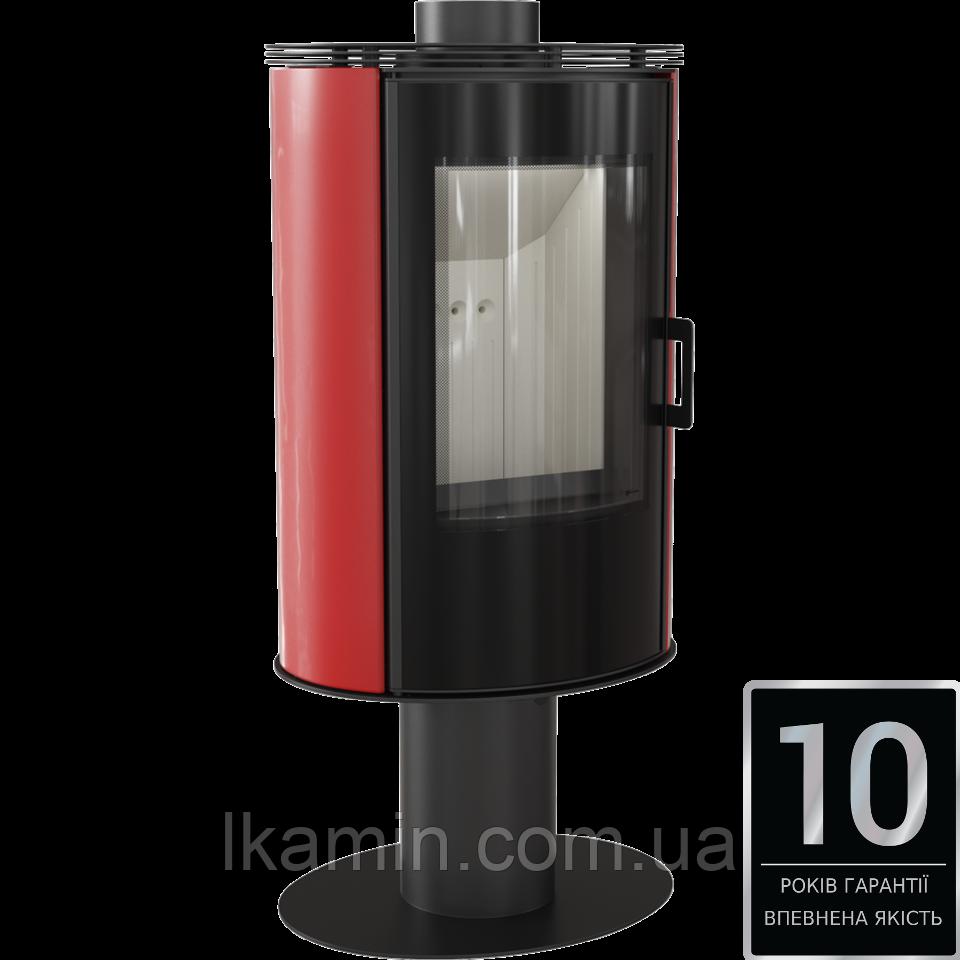 Печь KOZA AB S/N/O GLASS черный, белый, красный