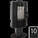 Печь KOZA AB S/N/O GLASS черный, белый, красный, фото 2