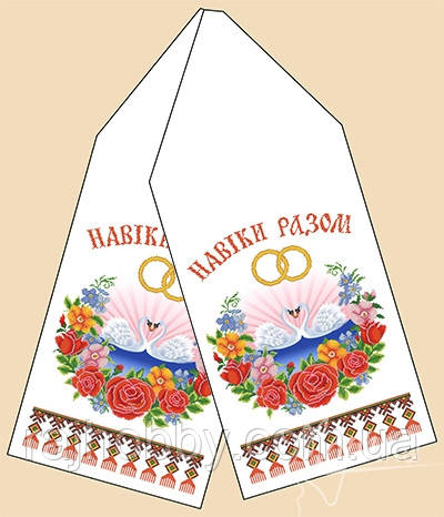 Марічка Рушник свадебный РБ-1011