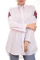Туники - рубашки с вышивкой Monte Cervino пронто мода оптом лот14шт