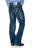 Мужские джинсы Franco Benussi 1102 синие, фото 3
