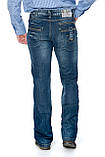 Мужские джинсы Franco Benussi 1102 синие, фото 4
