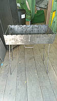 Мангал на10 шампуров из стали 3мм, фото 1