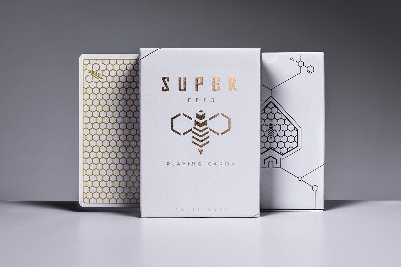Карты игральные   Super Bees by Ellusionist