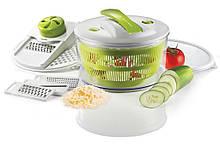Овощерезка Salad Spinner mandoline slicer 4 in 1, терка, шинковка, измельчитель