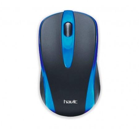 Мышь проводная Havit HV-MS675  blue