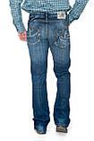 Джинсы мужские Franco Benussi 1084 синие, фото 4