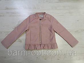 Куртка кожзам. на девочку оптом, Glo-story,  134/140, 146/152 рр, фото 2