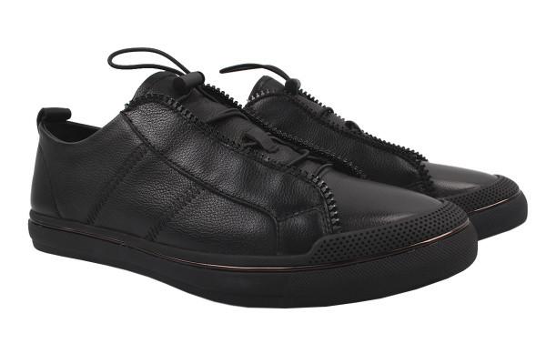 Туфли комфорт Cosottinni натуральная кожа, цвет черный