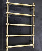 Бронзовый полотенцесушитель 500*950 Ретро Цилиндр 05П АЗОЦМ, фото 1