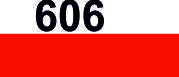 Мулине DMC (Франция) 606 Яркий красно-оранжевый
