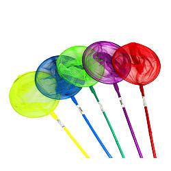 Сачок дитячий BT-BN-0002 (100шт) 5 кольорів в кул. 80*20 см