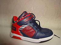 Демисезонные ботинки 25 р 15 см fieerinni на мальчика, кроссовки, высокие, осенние, весенние, хайтопы
